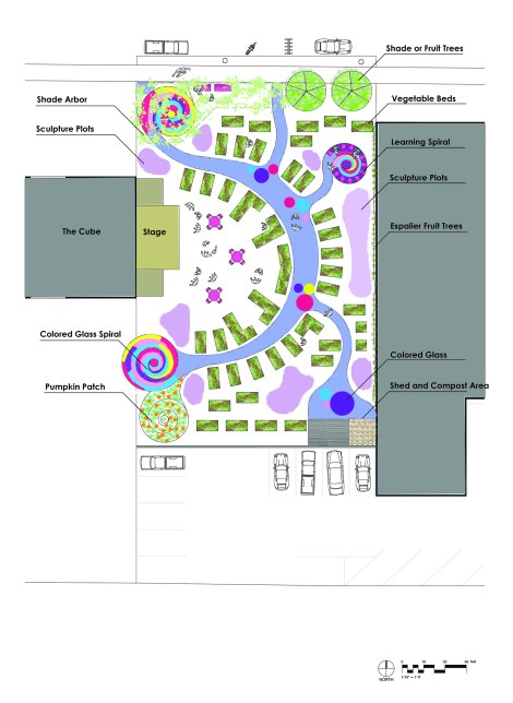 Art Garden Rendering